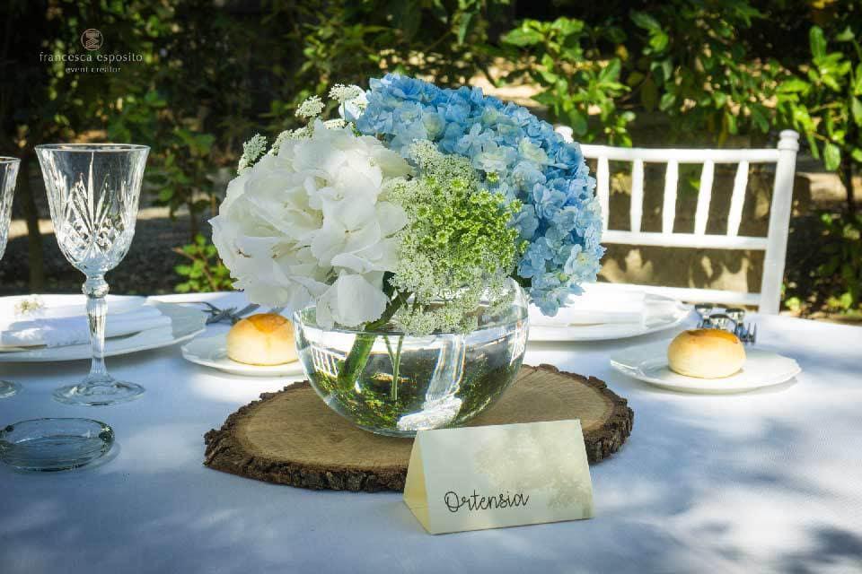 centrotavola boho chic wedding matrimonio a sorrento francesca esposito wedding planner