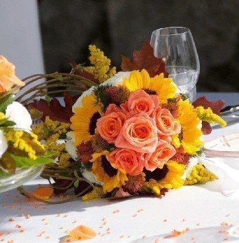matrimonio in autunno bouquet sposa