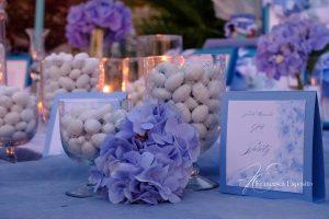 idee matrimonio ortensia blu