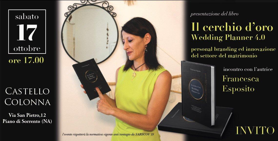 il cerchio d'oro il libro per wedding planner 4.0 di francesca esposito
